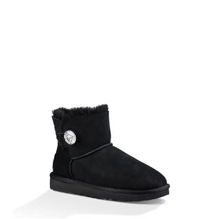 UGG Mini Bailey Button Bling ženski škornji